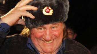 Der tschetschenische Machtinhaber Ramsan Kadyrow hat Neu-Russe Gérard Depardieu eine Wohnung in Grosny geschenkt (Archiv)