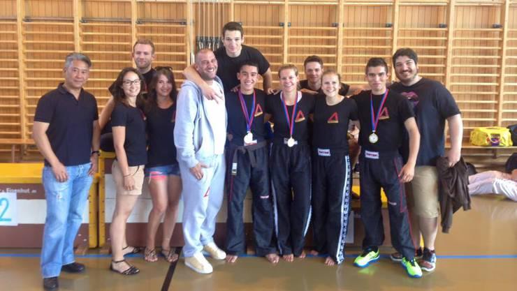 Erfolgreiche Kickboxer-Familie.