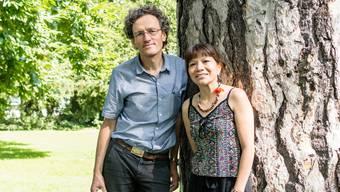 Naturschützer Johannes Jenny und Jachuka Reté.