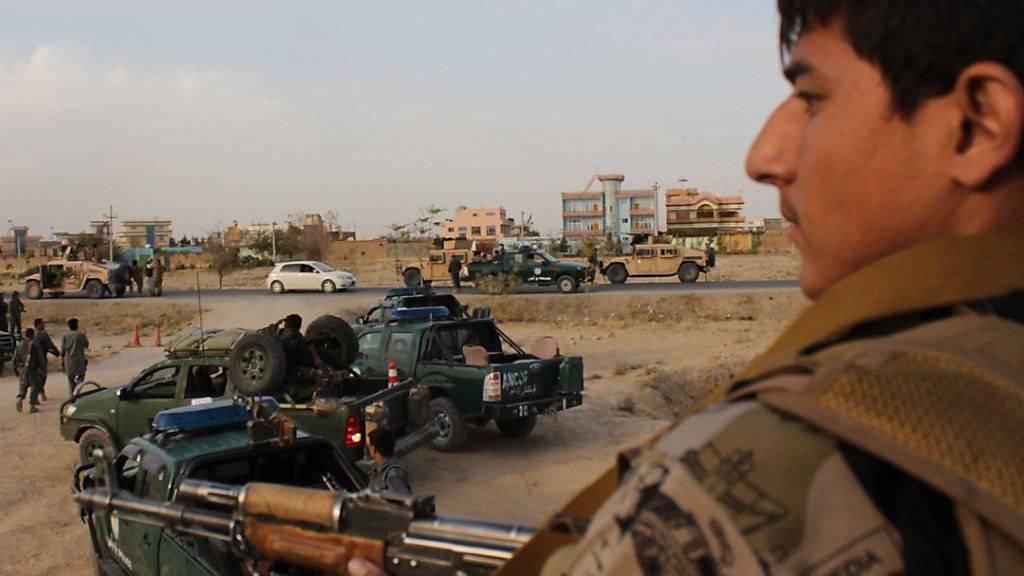 Gegenoffensive der Armee in der afghanischen Stadt Kundus: Im Windschatten der Taliban erstarkt auch der IS am Hindukusch.