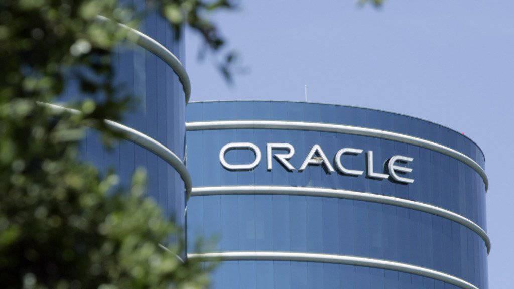 Oracle profitiert vom Cloud-Geschäft