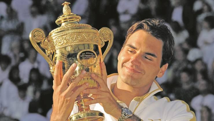 Roger Federer will diesen Moment noch einmal erleben.