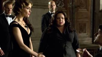 """Melissa McCarthy (Mitte) als Spionin Susan findet sich in """"Spy"""" unerwartet in der Rolle der Undercover-Agentin wieder (Archivbild)"""