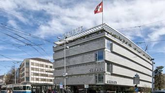 Erstrahlt bald in neuem Glanz: Globus an Zürichs Löwenstrasse. Foto: Keystone