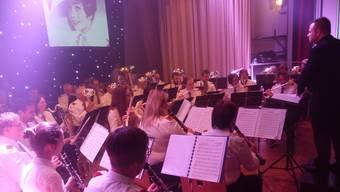 Die Musikgesellschaft Kaisten unter der Leitung von Marco Müller präsentierte dem Publikum ein «Concerto d'Amore».