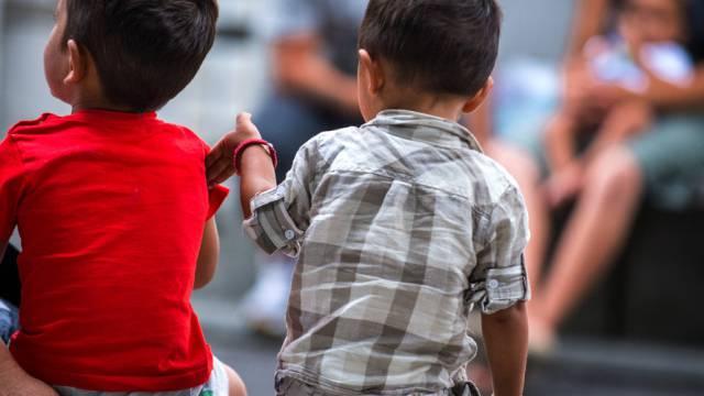 Kinder und Jugendliche: grösster Teil der unterstützten Flüchtlinge