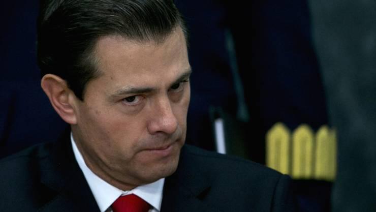 Mexikos Präsident stimmt sein Volk auf schwere Zeiten und harte Arbeit ein angesichts der Trump-Ära. (Archivbild)