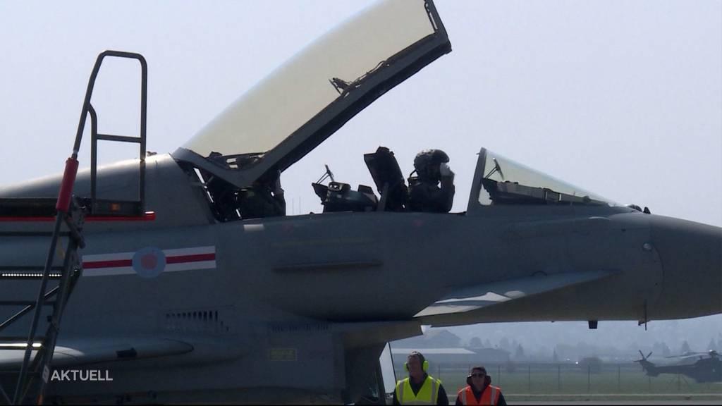 Nach Abstimmungskrimi: Schweizer Stimmvolk stimmte mit 50,1% für die neuen Kampfjets