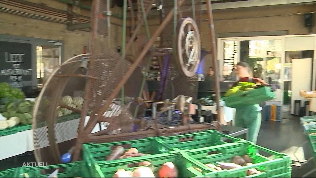 Restaurant in Olten zu Gemüsemarkt umfunktioniert