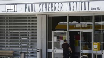 Eingang des Paul Scherrer Instituts