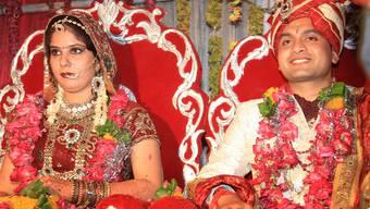 Das Brautpaar – das Hochzeitsfest dauert gerne mal eine Woche.