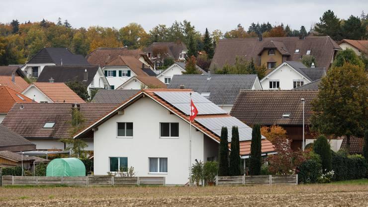 Nicht aus jeder Perspektive wirkt das Dorf Bolken derart kompakt.