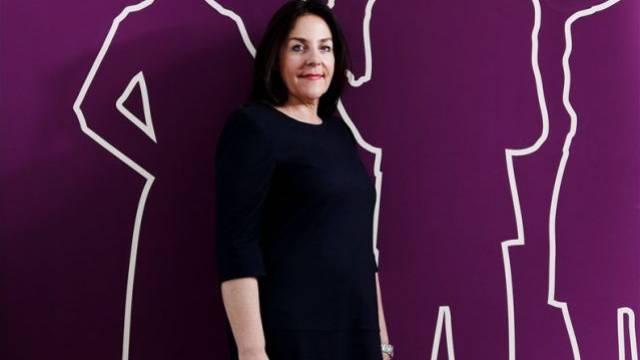 Petra Jenner im Hauptsitz von Microsoft Schweiz in Wallisellen ZH. Foto: Stephan Rappo