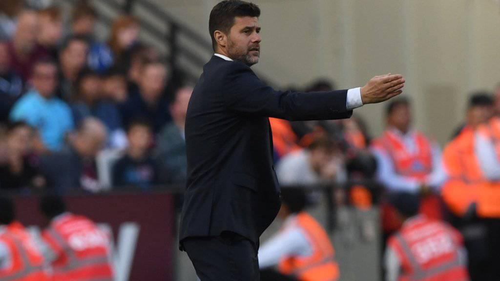 Seine Inputs bringen im Moment nicht den gewünschten Effekt: Tottenham-Coach Mauricio Pochettino