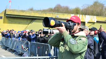 Demonstration des Eurofighter Kampfjets in Payerne (12.04.19)