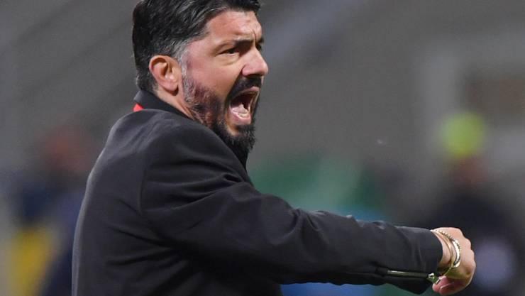 An Leidenschaft und Temperament fehlt es Gennaro Gattuso nicht