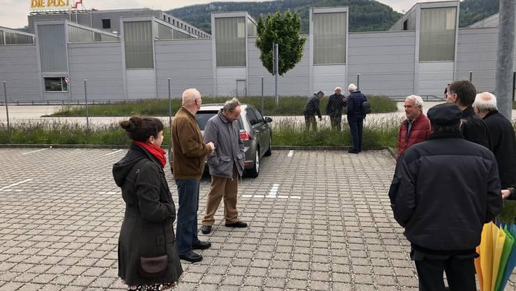 Pünktlich um 19:20 trafen wir auf dem Parkplatz vor dem Briefzentrum ein. Mit dabei waren auch einige Vertreter der Vereine Langenthal und Selzach, sowie der Verbandspräsident.
