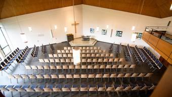 Ein neu gestalteter Kircheninnenraum für viele Gelegenheiten.
