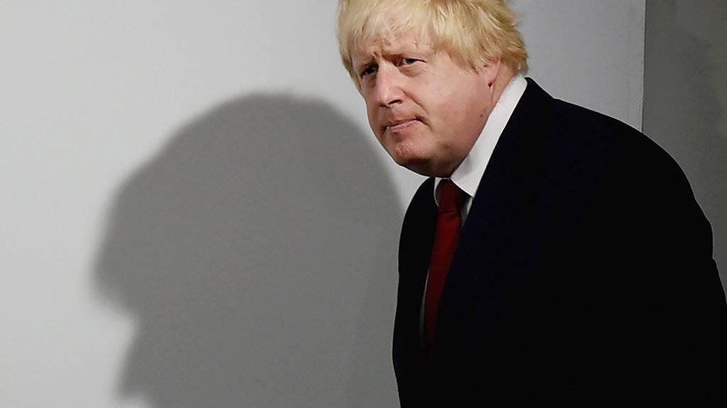 Der ehemalige Londoner Bürgermeister Boris Johnson verzichtet überraschend auf eine Kandidatur für das Amt des britischen Regierungschefs. (Archiv)