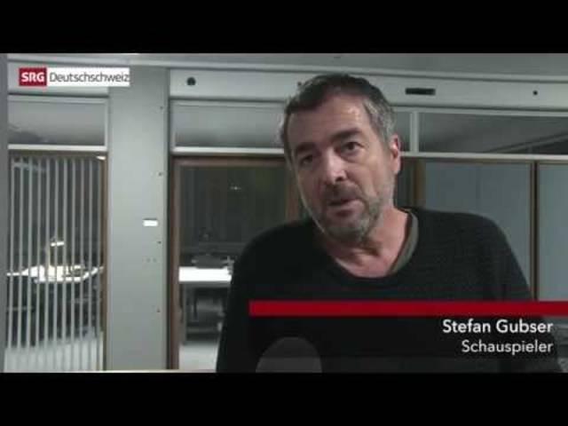 Dreharbeiten zum Luzerner Tatort «Sniper» mit Delia Mayer.