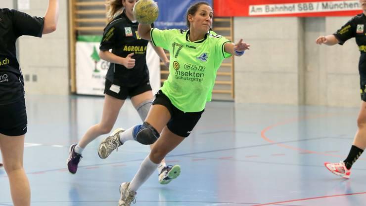 Marie-Rose Büttikhofer war mit 10 Treffern die Topskorerin der HSG Leimental.