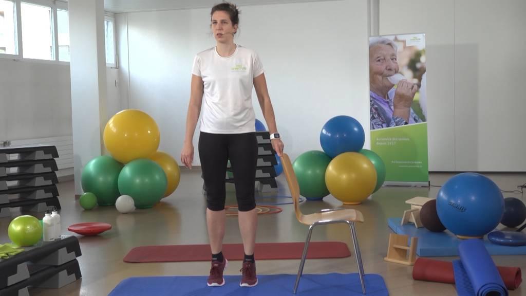 «Gymnastik im Wohnzimmer» vom 16. Februar 2021