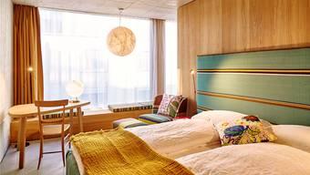 Ein solches Doppelzimmer im Hotel Nomad wurde am Freitag für den Baselworld-Eröffnungstag für 840 Franken pro Nacht angeboten.