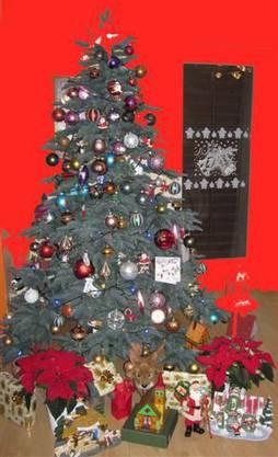Weihnachtsbaum von Olga Hunziker, Wettingen