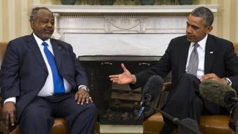 Strategische Partnerschaft: Obama und Guelleh
