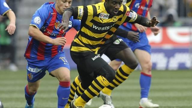 Basel gegen YB (hier Shaqiri gegen Doumbia) gibts zu Beginn und am Ende der Rückrunde
