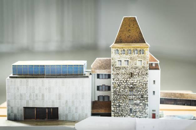 Model des Neubaus.