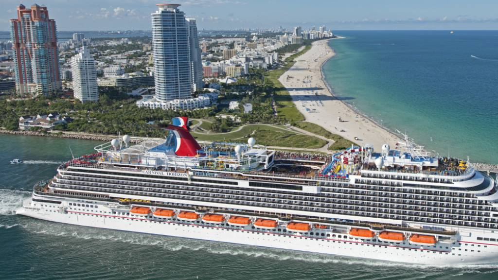 Kreuzfahrtriese Carnival erwartet 2,2 Mrd Dollar Quartalsverlust