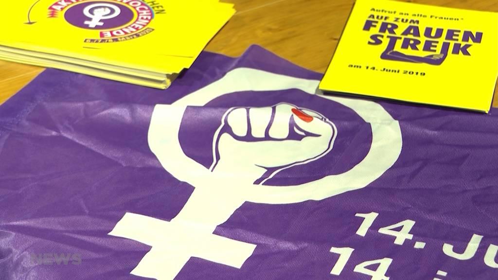 Feministische Frauensession vor der Reitschule in Bern