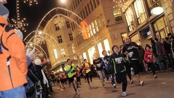 Auch die Kleinen kommen am Stadtlauf auf ihre Kosten. Auf 0,5 km können schon Buben und Mädchen mit Jahrgang 2010 in der Basler Innenstadt um die Wette rennen.