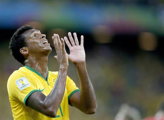 Verzweifelte Brasilianer - im Bild Jo