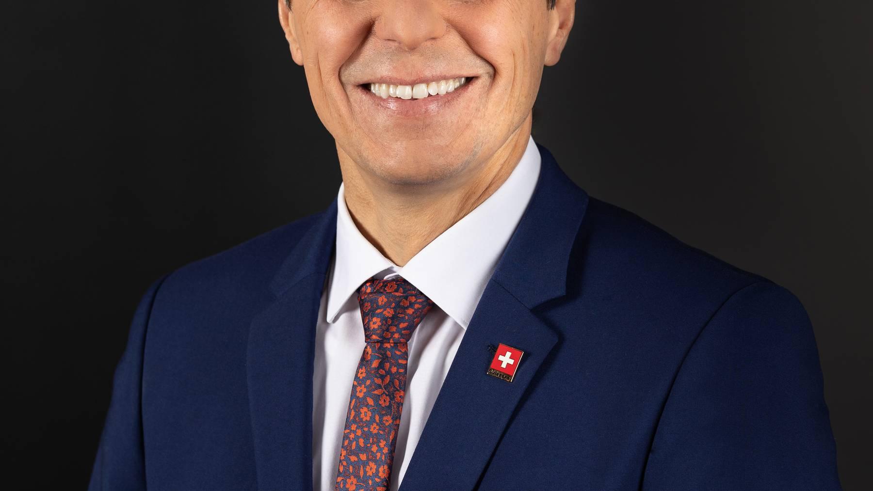 Ignazio Cassis will Aussenminister bleiben