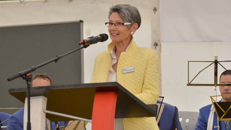 Die abtretende Stiftungsratspräsidentin Ursula Brun-Klemm