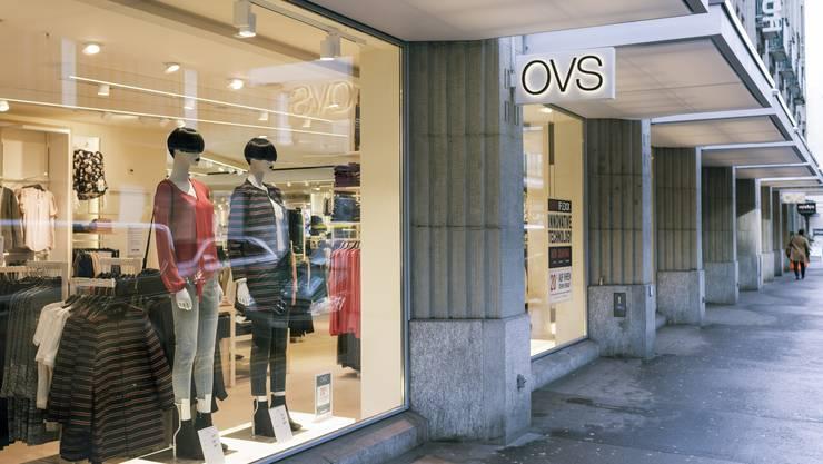 Auch der Flagship-Store in Zürich wird geschlossen.