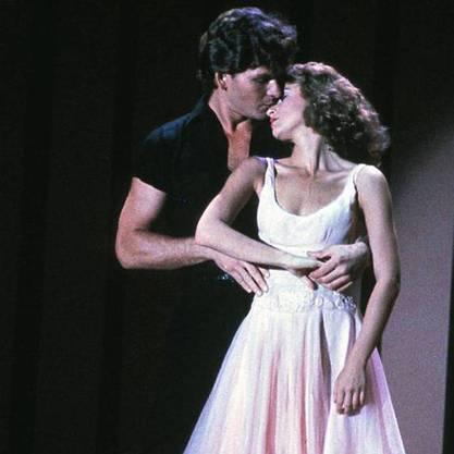 "Mädchenschwarm Swayze in ""Dirty Dancing"""