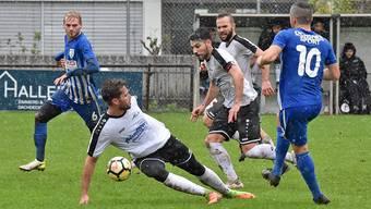 Die Regenschlacht am 3. November 2019 gegen Adliswil wird bis auf Weiteres das letzte Spiel des FC Olten in der 2. Liga inter bleiben.