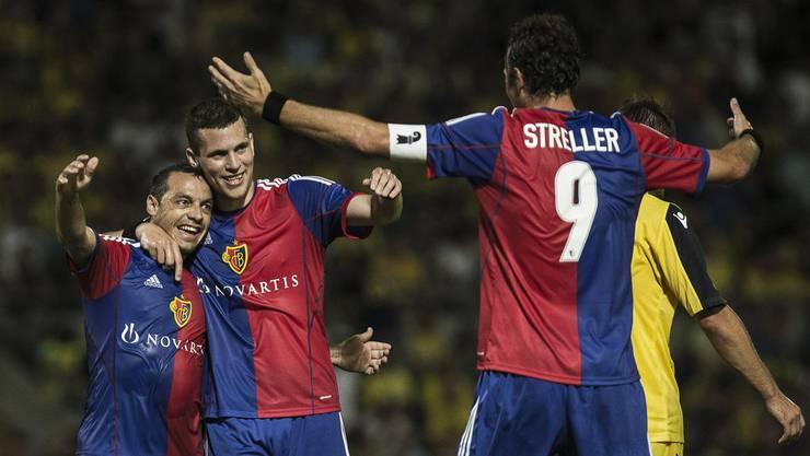 Der FC Basel muss nach Bulgarien reisen.