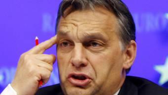 Der Lack ist ab: Ungarns Regierungschef Viktor Orban