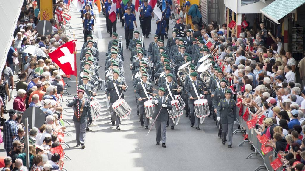 Militärmusikant spielt falsch und wird gebüsst