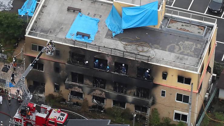 Der Täter des Brandanschlags von Kyoto hat als Ursache für sein Handeln angegeben, dass die Produktionsfirma angeblich Ideen von ihm gestohlen habe.