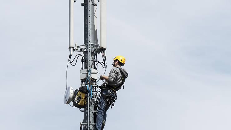Sunrise, Salt und Swisscom wollen Mobilfunknetze ausbauen (Symbolbild)