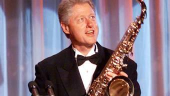 Ex-Präsident Bill Clinton ist auch ein Saxofonist (Archiv)
