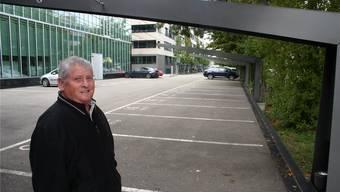 Die Park-and-Ride-Anlage hinter dem Sony-Gebäude soll besser genutzt werden, findet der ehemalige SP-Gemeinderat Robert Horber.