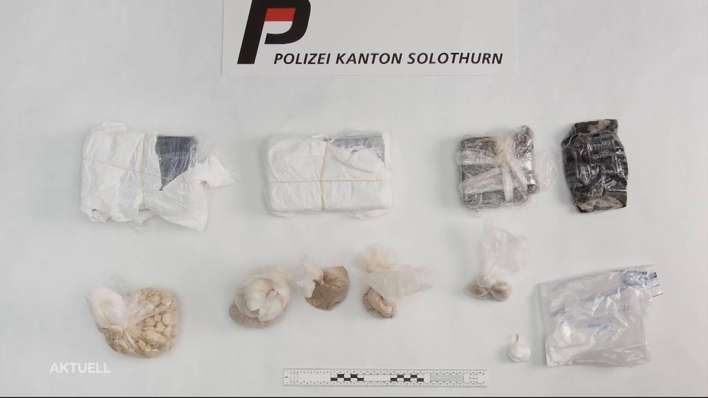 Polizei stellt 6 kg Drogen bei Razzia sicher