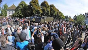 Militärparade in Zofingen
