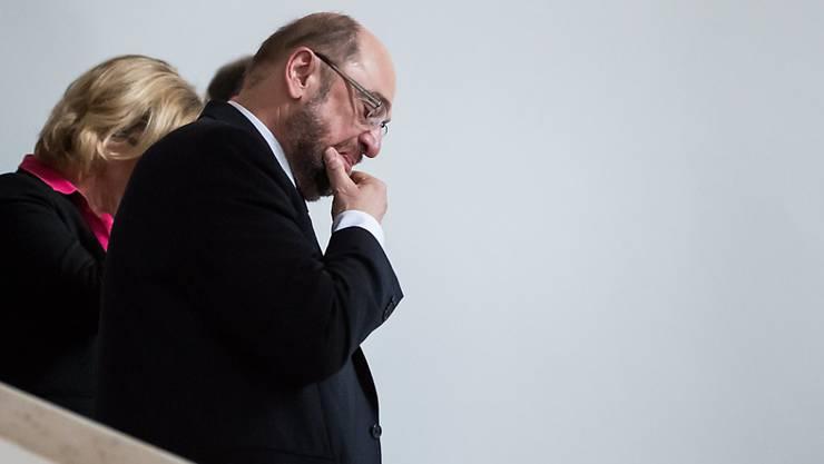 GroKo oder nicht? - Lässt sich der Abstieg der SPD um Parteichef Martin Schulz stoppen?